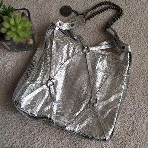 Juicy Couture snakeskin handbag
